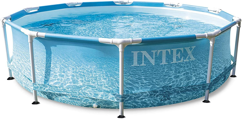 Bazén Intex 28208 BEACHSIDE METAL FRAME POOL 305x76 cm SET