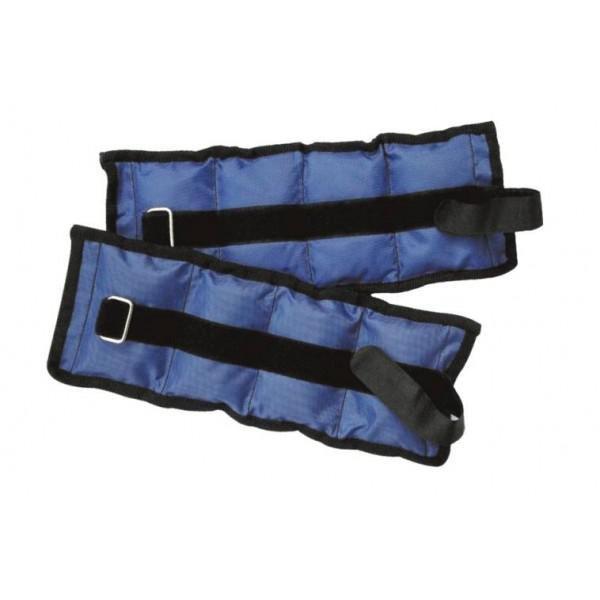 Zátěž zápěstí/kotníky SEDCO NYLON 2X1,0KG-modrá