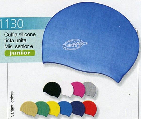Koupací čepice SILICON UNI 1130 modrá