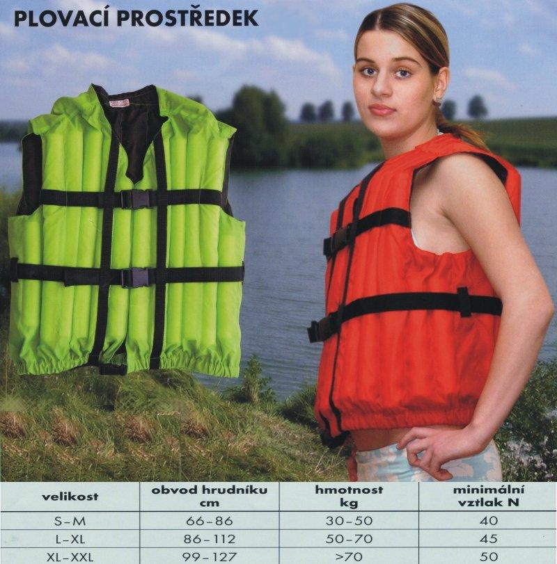 Vesta vodácká XL-XXL