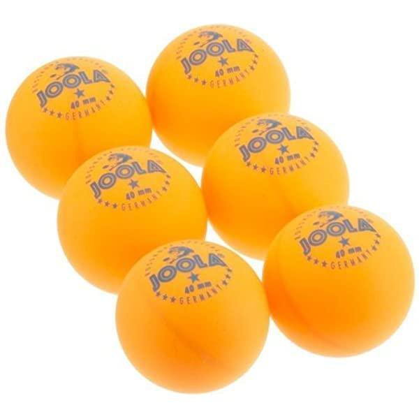 Míčky na stolní tenis JOOLA ROSSI* orange - SET 6 ks