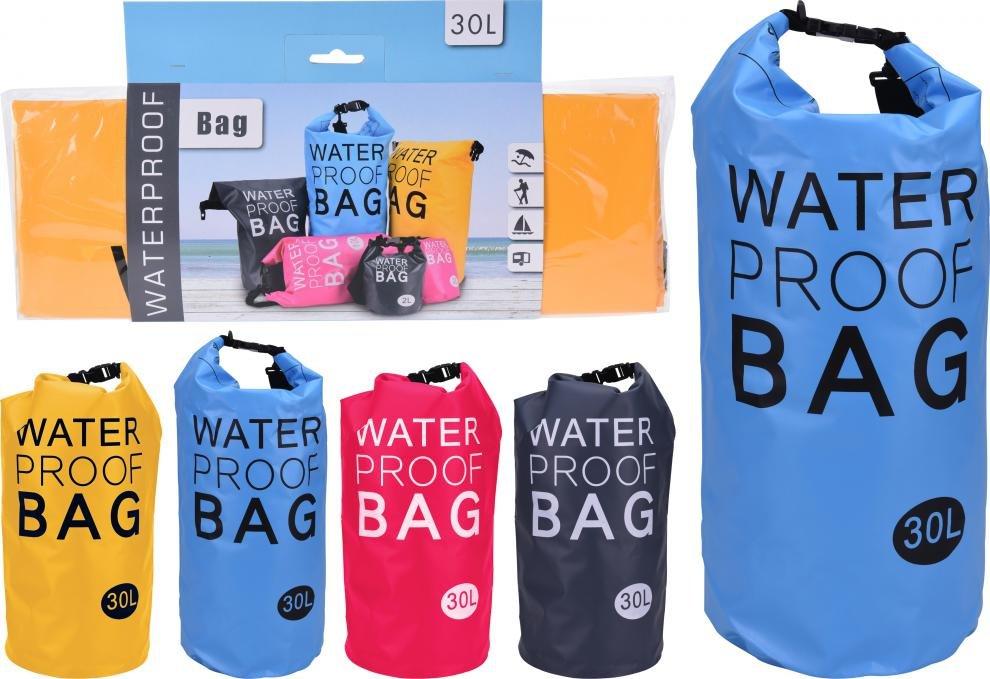 Vodácký batoh WATERPROOF BAG 30l červená