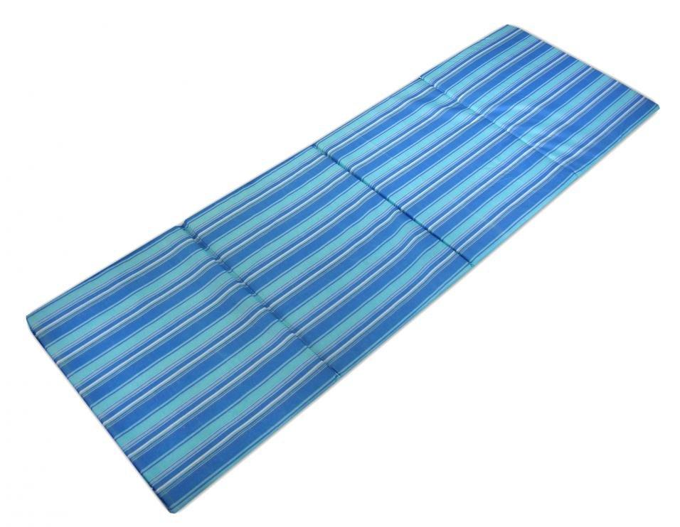 Skládací plážové lehátko Sedco - modré