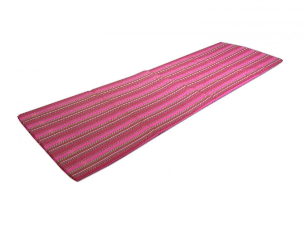 Skládací plážové lehátko Sedco - růžové