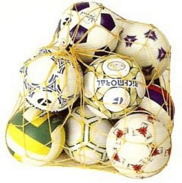 Síť na míče 15 ks