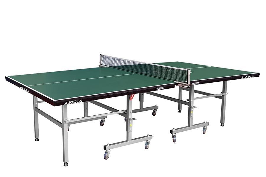 Stůl na stolní tenis Joola transport zelený