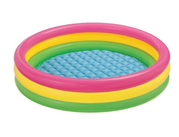 Bazén nafukovací Intex dětský SOFT DNO 114x25 cm