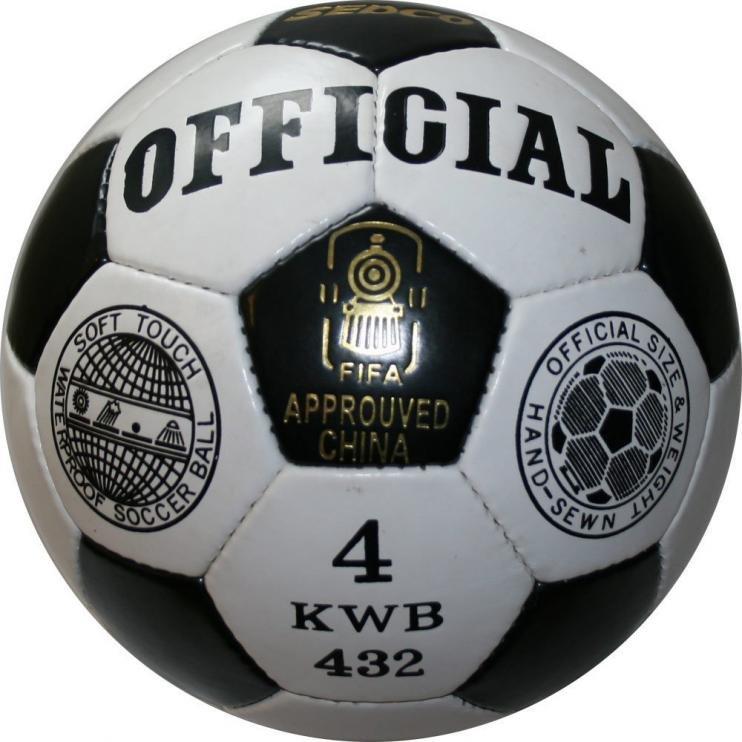Fotbalový míč OFFICIAL SEDCO KWB32 - 4 + dárek