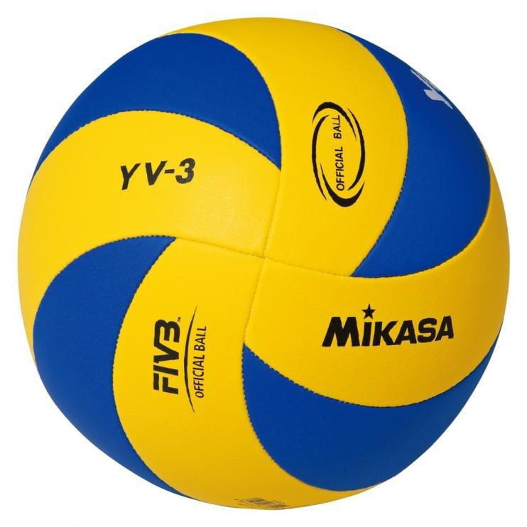 MIC VOLLEY MIKASA YOUTH YV-3 žluto/modrý