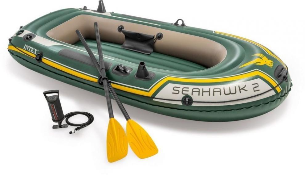 Člun nafukovací SEAHAWK 2 Set INTEX