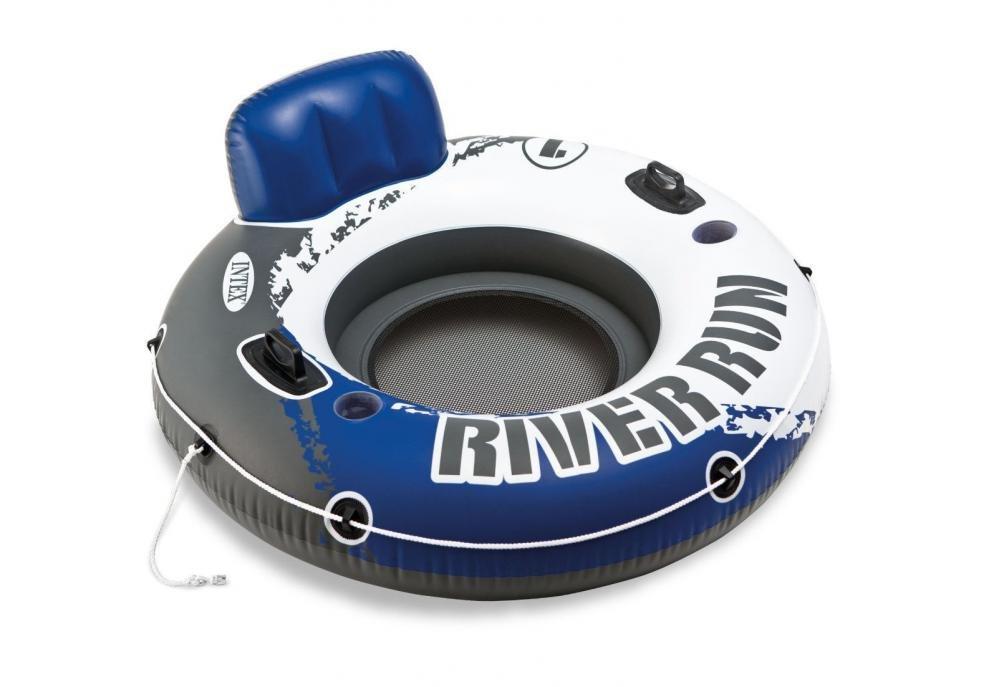 Kruh plavecký river DIA 135 cm Intex 58825 modro/bílý
