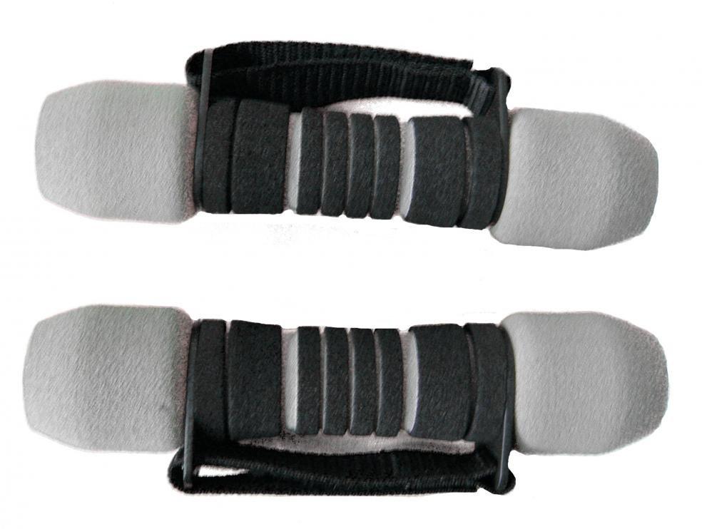 Činka aerobic SOFT 2x1 kg 808 Sedco šedo/černé