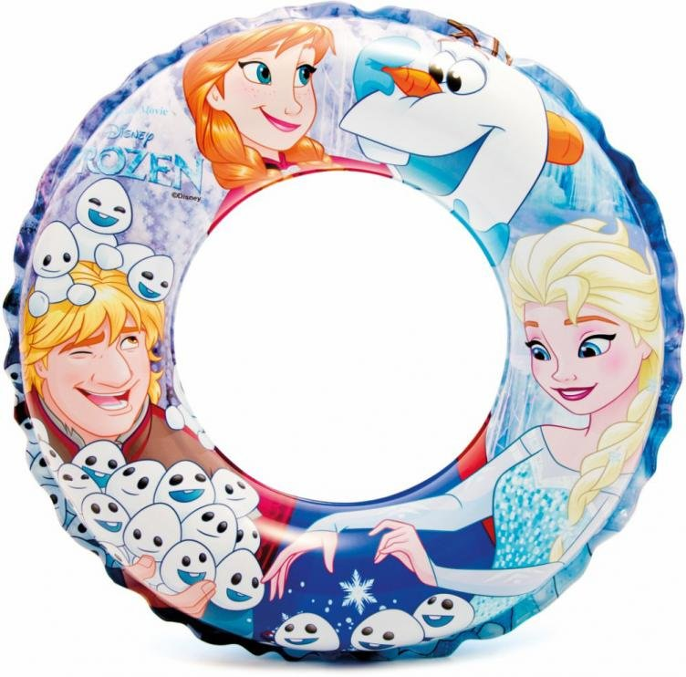 Kruh plavecký Intex Frozen Deluxe 56201 51cm