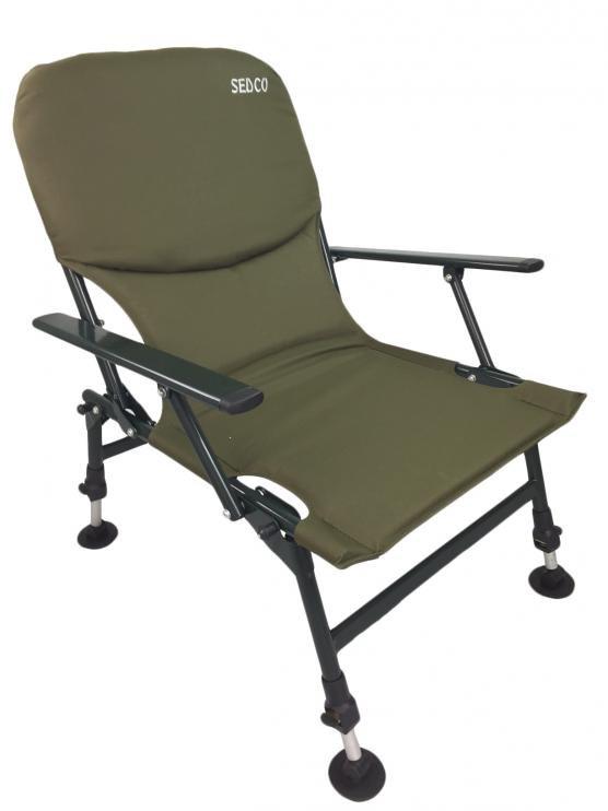 Rybářská židle s opěrkou SEDCO FISHING FC002
