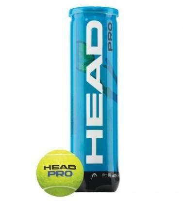 Tenisové míčky Head Pro (4 míčky v tubě)