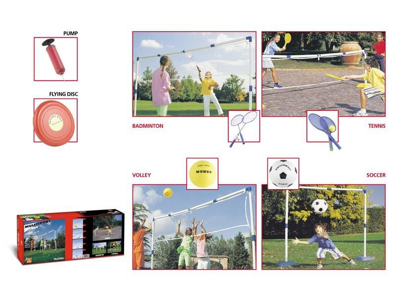 Multisport Mondo SET 5v1 sada pro míčové sporty