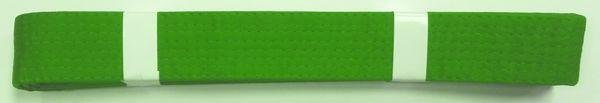 Pásek ke kimonu JUDO v.1 Zelená