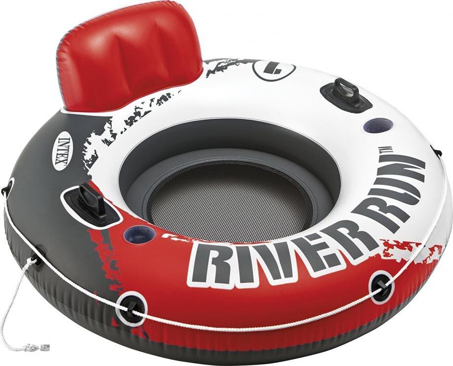 Kruh plavecký INTEX RIVER RUN FIRE EDITION 135 cm