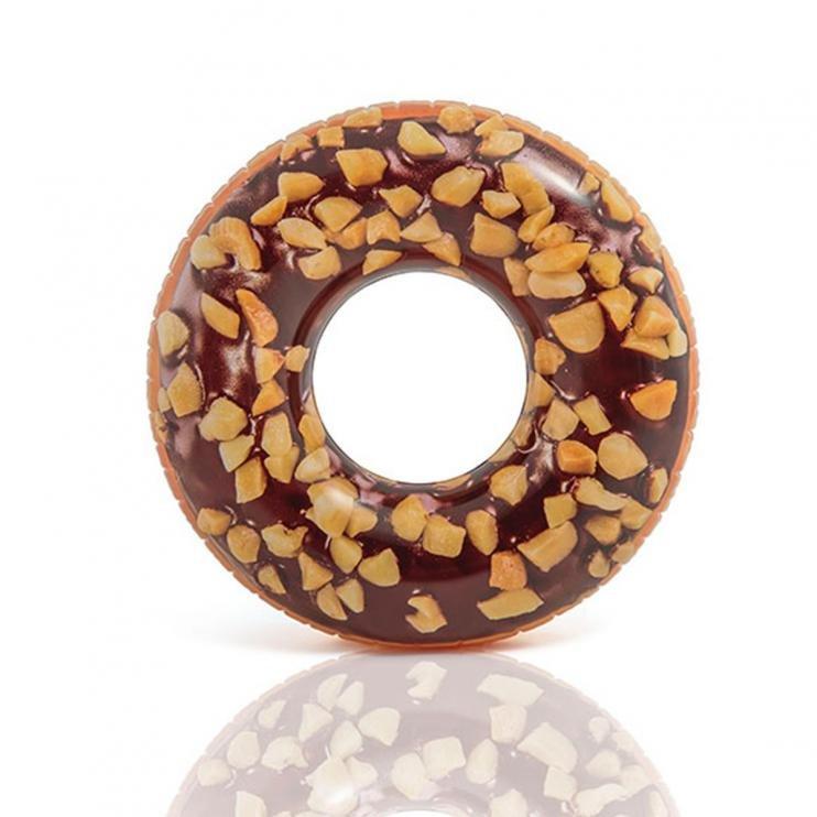 Kruh plavecký Intex 56262 Čokoládový donut 114 cm