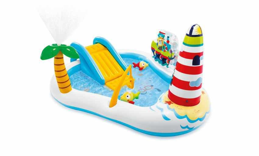 Hrací centrum Fishing FUN Intex 57162 218x188x99 cm
