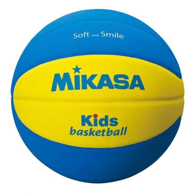 Míč basketbal DĚTSKÝ MIKASA PĚNA EVA VEL.5 SB5