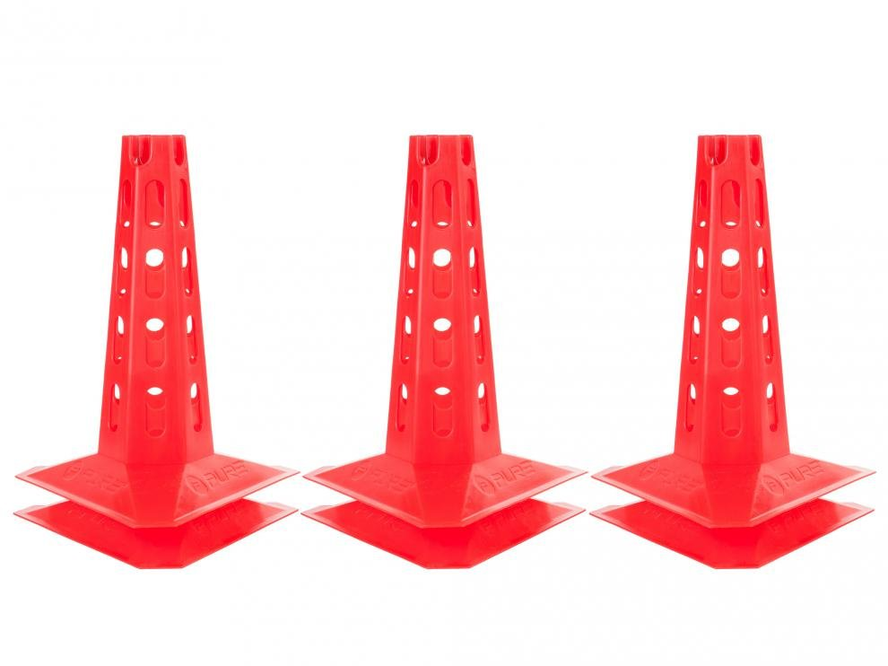 Kužely P2I AGILITY 30 cm - Sada 6ks