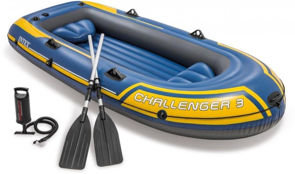 Člun nafukovací CHALLENGER 3 Set