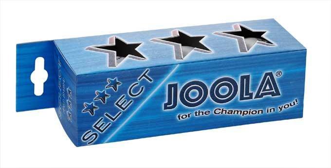Míčky na stolní tenis JOOLA SELECT*** - SET 3 ks