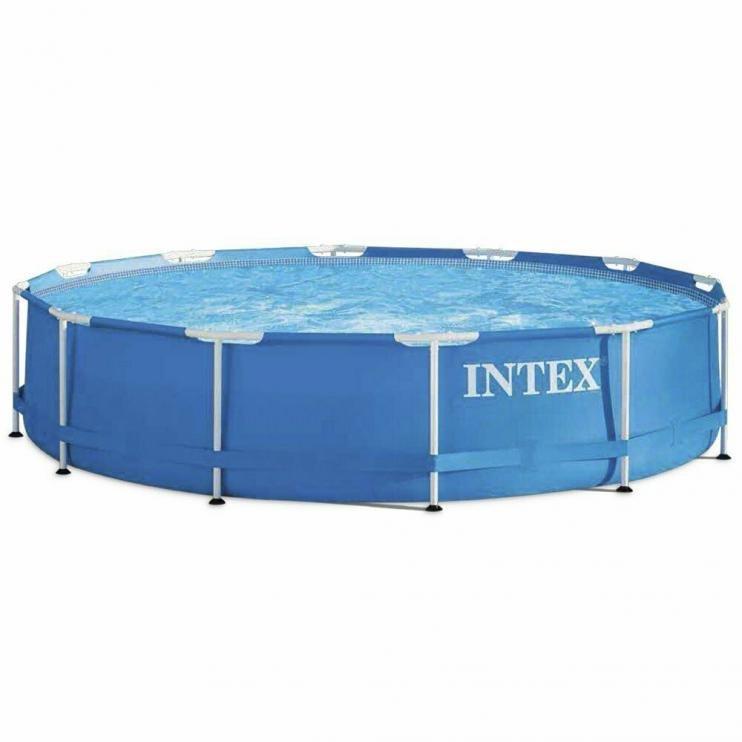 Bazén Intex 28202 METAL FRAME POOL 305x76 cm SET