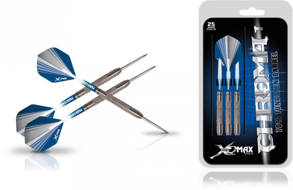 Šipky XQ MAX Steel Chroma - 25g