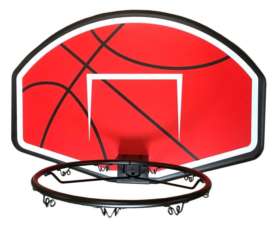 Panel na basket Sedco koš + síťka 80*58cm