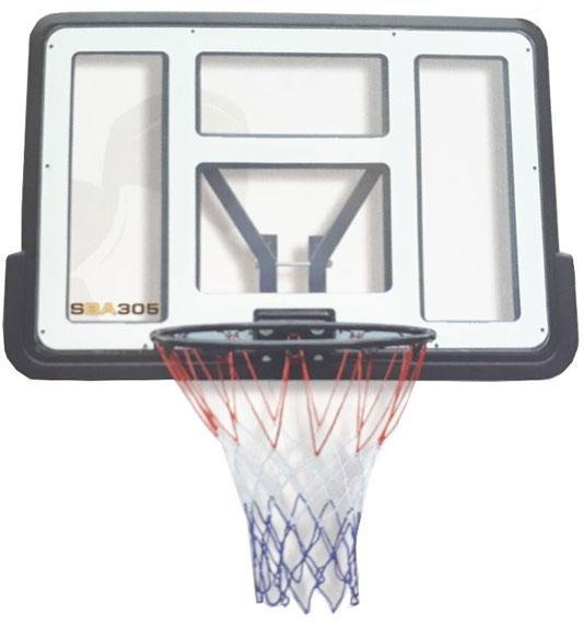 Panel na basket SPARTAN Transparent - 110 x 75 cm