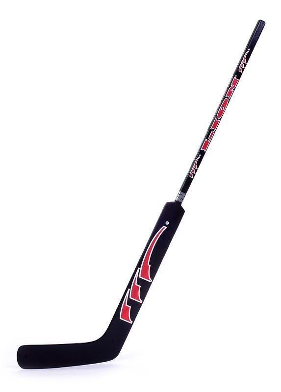 Brankářská hůl Lion 7744 - velikost 145 cm LION barva černá/červená