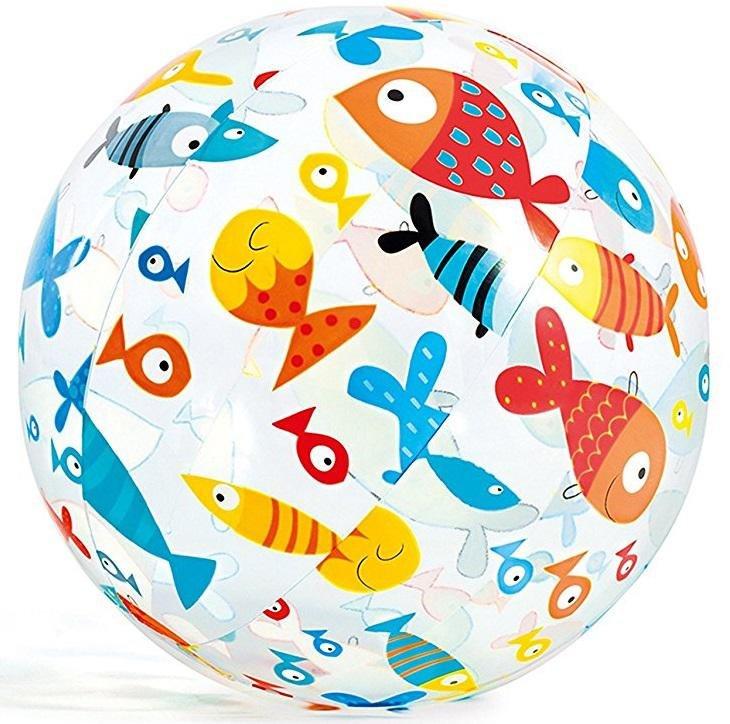 Nafukovací plážový míč Intex 59040 51 cm ryby
