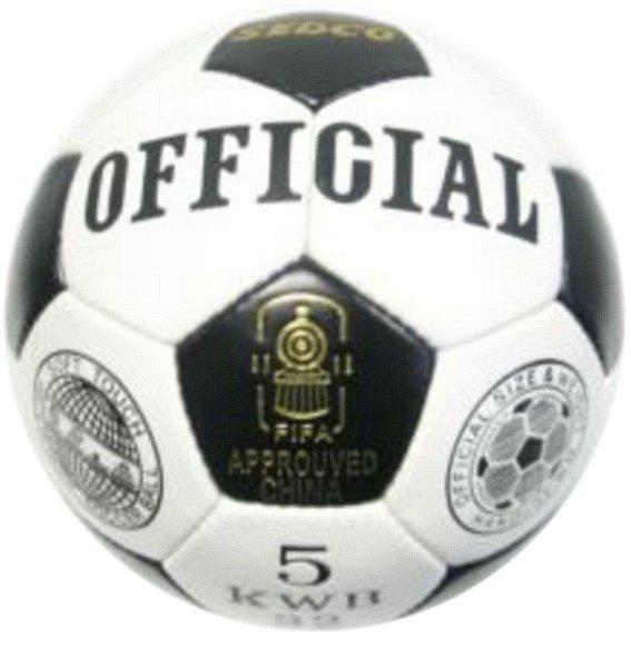 Fotbalový míč OFFICIAL SEDCO KWB32 vel. 5 + dárek