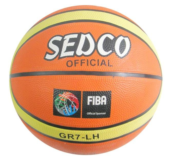 Míč basket SEDCO ORANGE SUPER 7