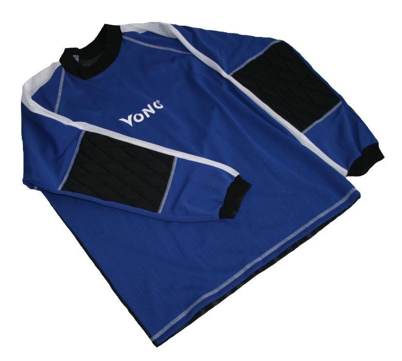 Florbalový dres brankářský Standard velikost XL modrý