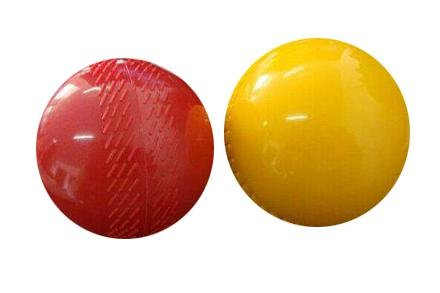 Míč KRIKET RM CB7P červená