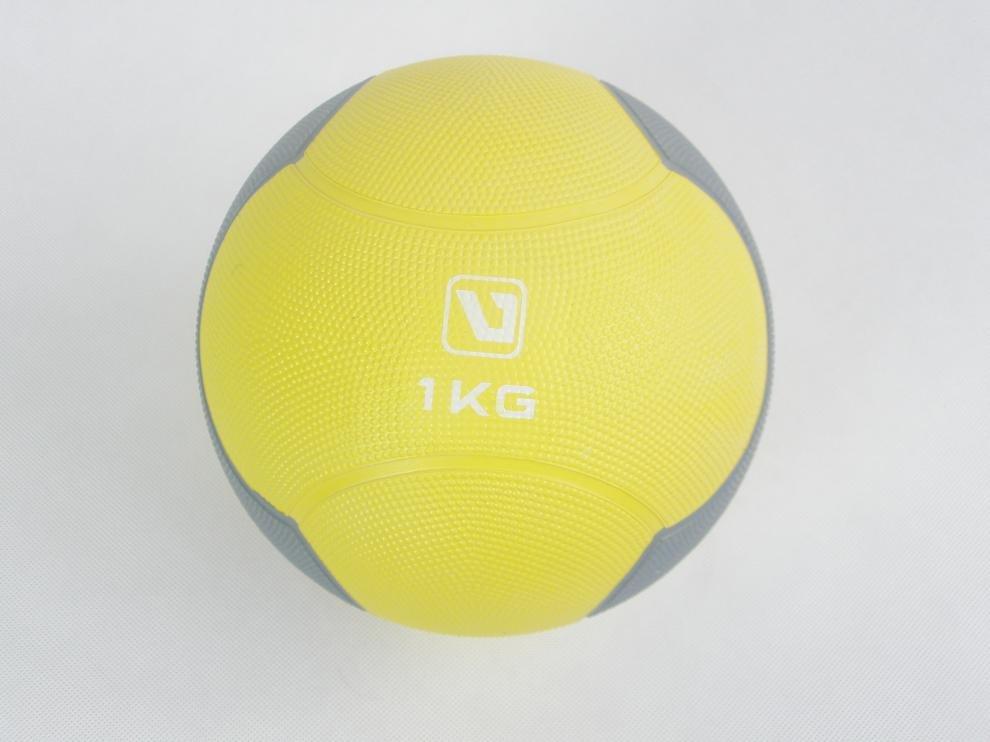 Míč medicinbal plast 1 kg ZL