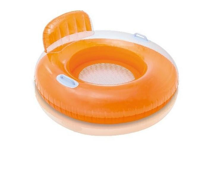 Sedátko nafukovací do vody Intex 56512 červené 102 cm