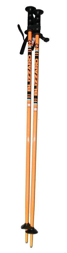 Sjezdové hole Blizzard junior 90 cm oranžovo/černé