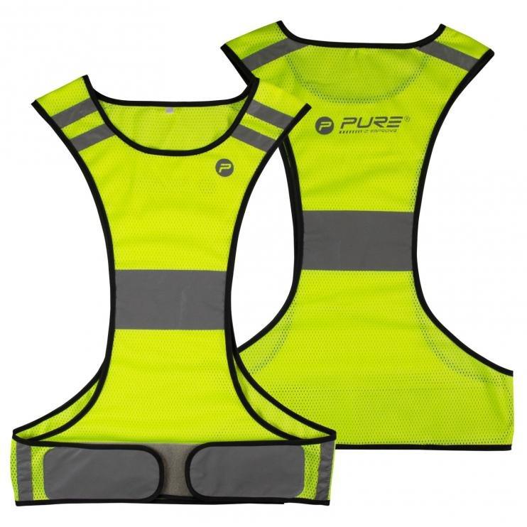 Reflexní vesta běh/cyklo P2I VEL M