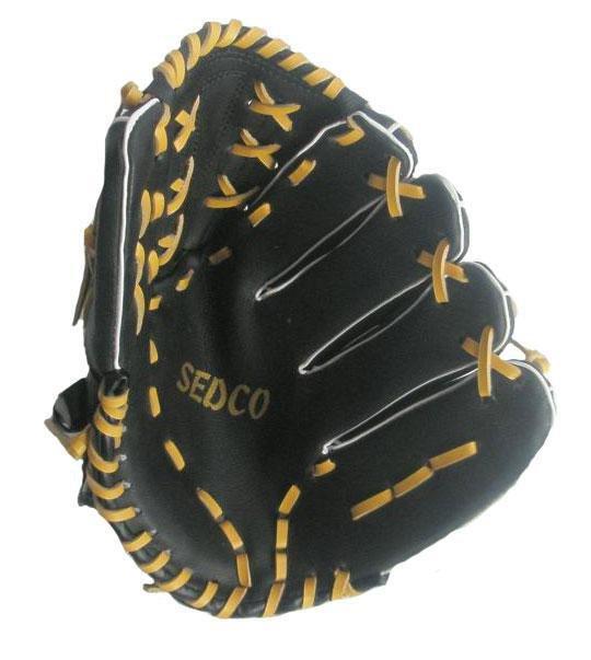 """Baseball rukavice DH-120 syntetická useň 12"""" Richmoral černá- levá"""