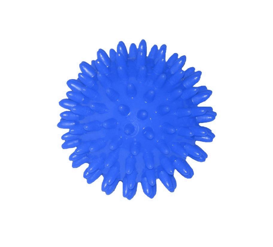Míček masážní 70 mm modrá