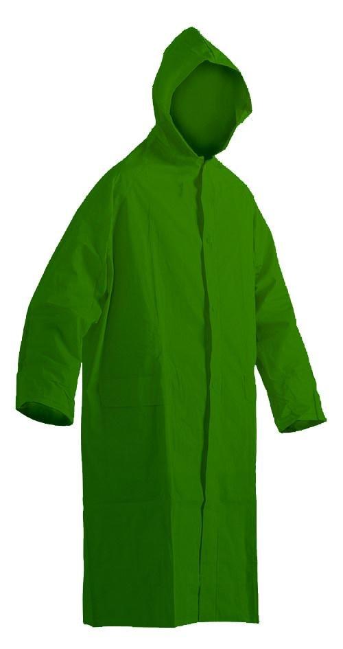 Pláštěnka PVC silná-zelená