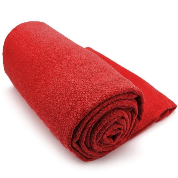 Ručník na YOGU LiveUp LS3752 183X63cm-červená