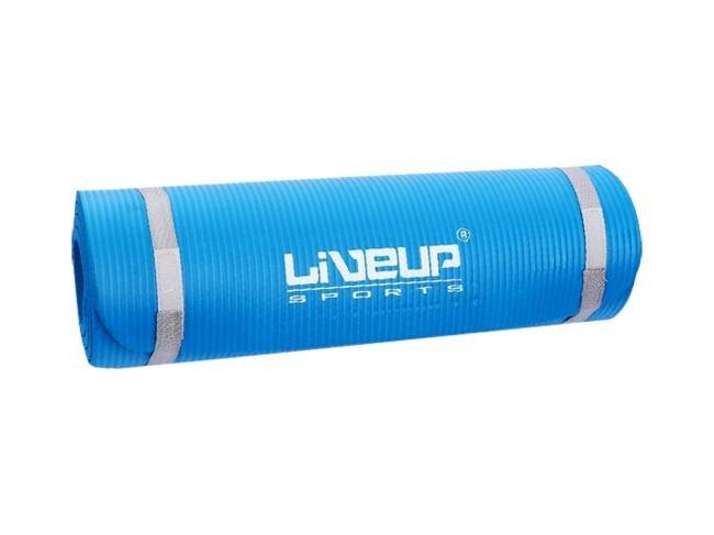 Karimatka LiveUp NBR 180cm x 60cm x 1.2cm modrá