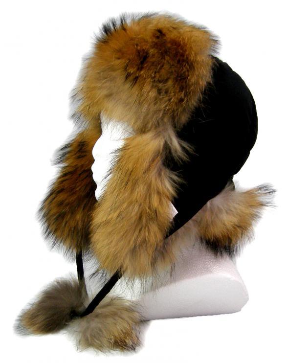 Zimní kožešinové čepice