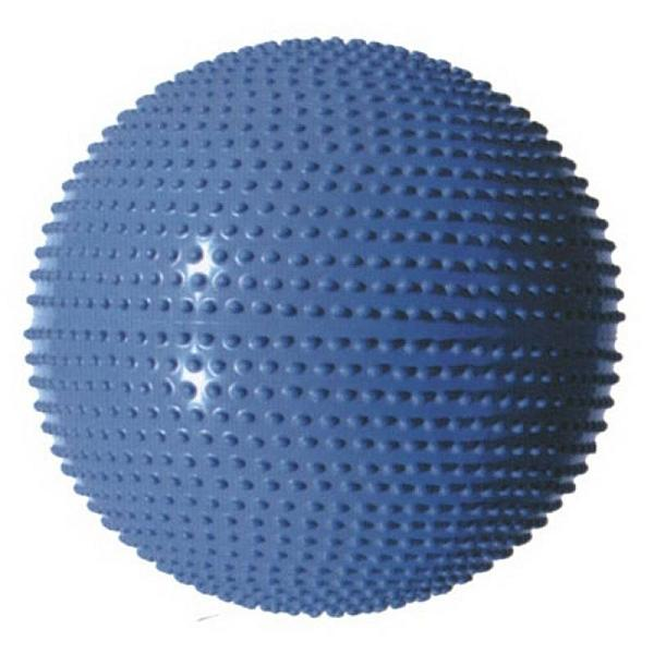 Gymnastický míč MASÁŽNÍ 65 modrá
