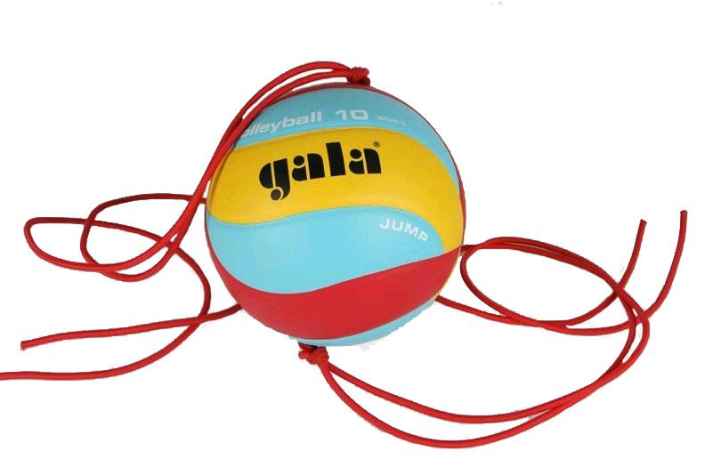 Míč volejbal JUMP 5481S GALA barva žluto/modro/červená